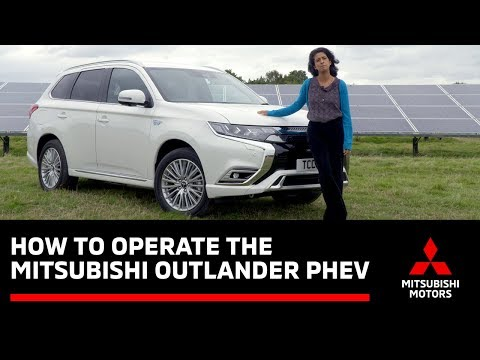 How To Operate The Outlander Phev With Konnie Huq