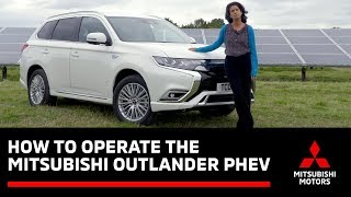 How To Operate the Outlander PHEV - with Konnie Huq