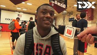 Dariq Whitehead: 2018 USA Basketball Junior Minicamp Interview