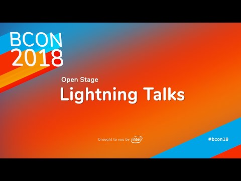 Lightning Talks – Blender Conference 2018 Open Stage