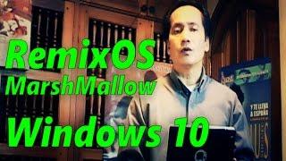 Convertir PC Windows 10 en Tablet con MarshMallow Android 6 0