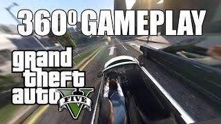 GTA V - Gameplay 360° Degree