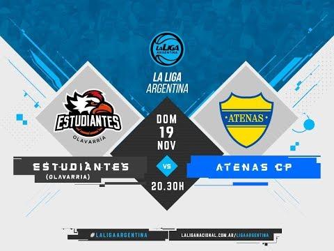 #LaLigaArgentina | 19.11 Estudiantes de Olavarría vs. Atenas de Carmen de Patagones