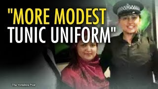 """Modest"" Islamic POLICE Uniform for West Yorkshire 