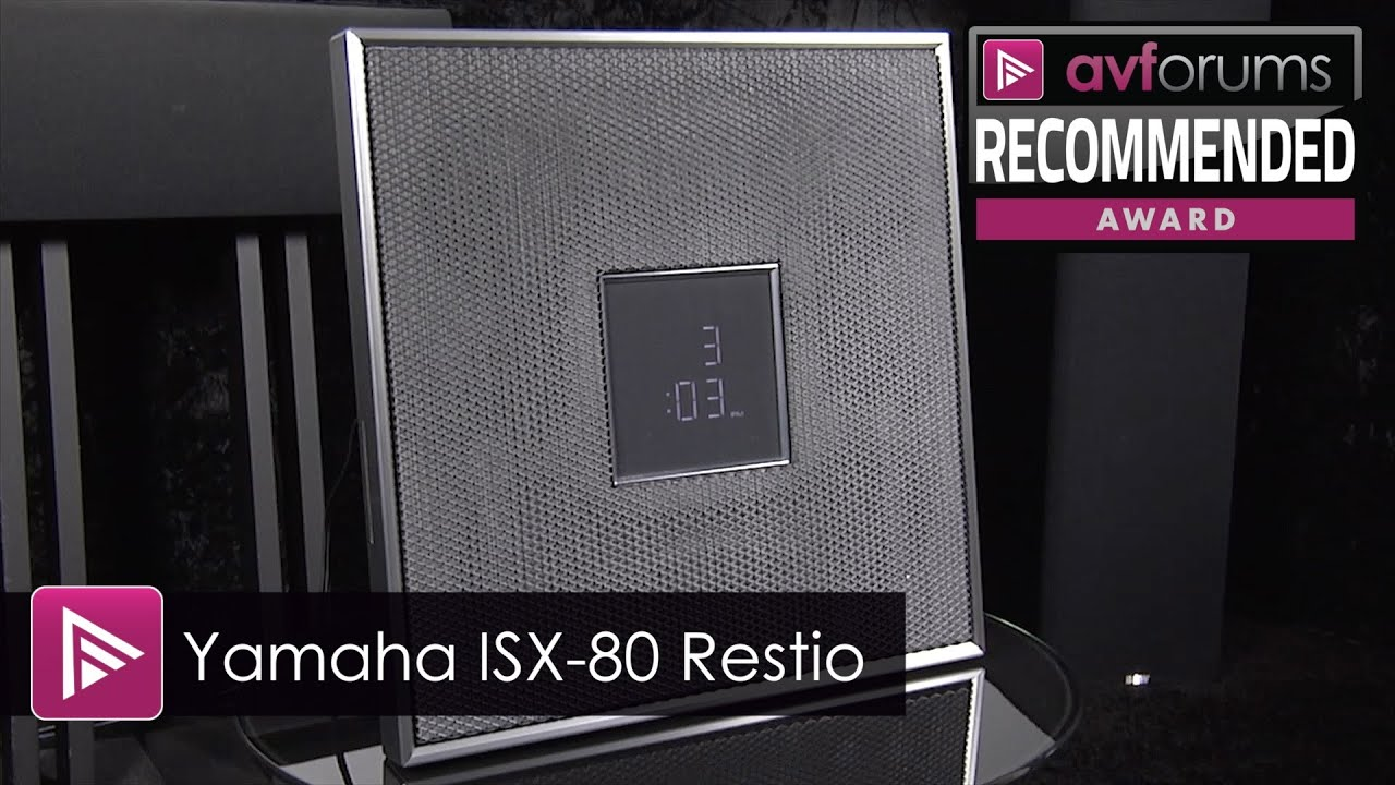 yamaha isx 80 restio musiccast speaker review youtube. Black Bedroom Furniture Sets. Home Design Ideas