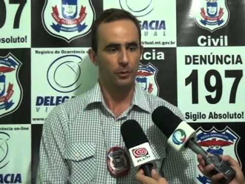 Suspeito de diversos furtos é preso pela Polícia Civil de Confresa