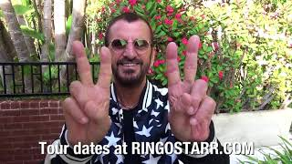 Ringo Starr and the 2018 All Starr Band Tour Announcement