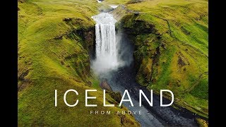 Iceland from above. Drone footage. (2018)