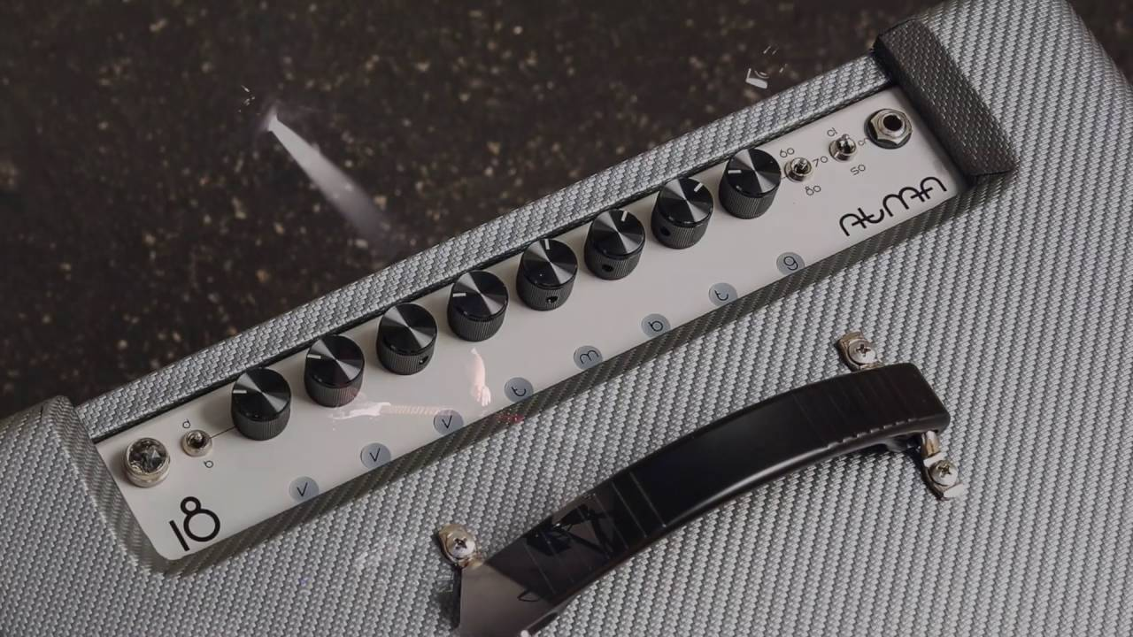 New ATMA video featuring killer Lap Steel guitarist Sean Williamson Lots of cool tones here, clean to mean with the ultimate bedroom to stage amp. Small size, t...