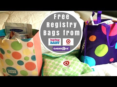 What's In The Registry Gift Bags From Target, Buy Buy Baby And Babies R Us