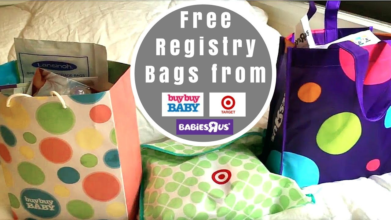 What's in the Registry Gift Bags from Target, Buy Buy Baby and ...