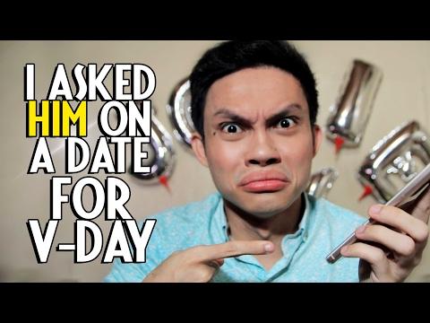 dating new guy valentines day