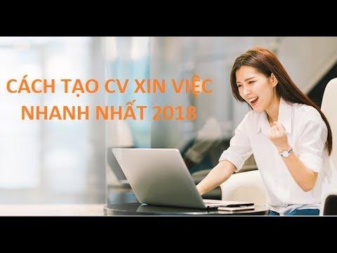 [Timviec365.vn] Cách tạo và Tải CV xin việc online mới nhất