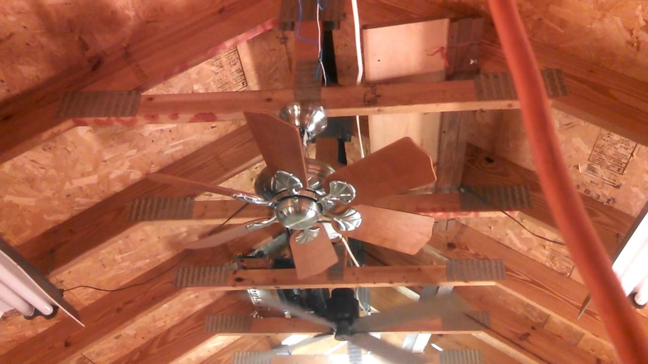 casablanca wailea ceiling fan in brushed nickel youtube