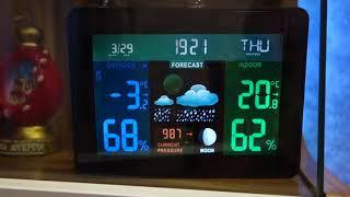 метеостанция Hama EWS-1400 обзор