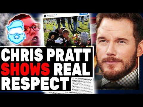 Chris Pratt DEMOLISHES Woke Hollywood With Incredible Memorial Day Message