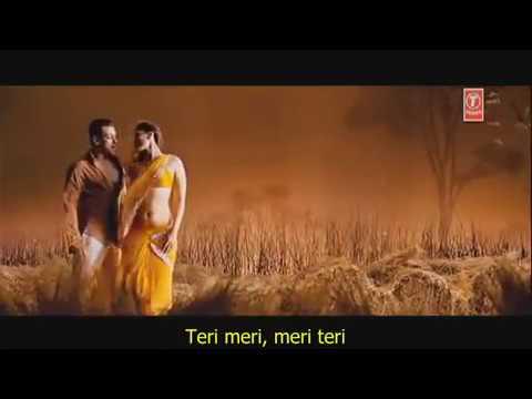 Teri Meri Full original Video Song W  Lyrics on Screen Bodyguard 2011 ft Salman Khan Kareena   Yo