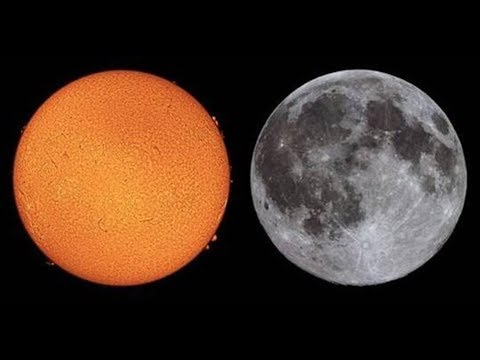 Are The Moon And Sun The Same Size?