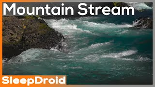 ► Blue Mountain Stream 10 hours of Natural White Noise, River, Forest Creek, Running Water, Relaxing