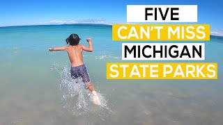 Top 5 Michigan Stąte Parks - Full-time RV Family