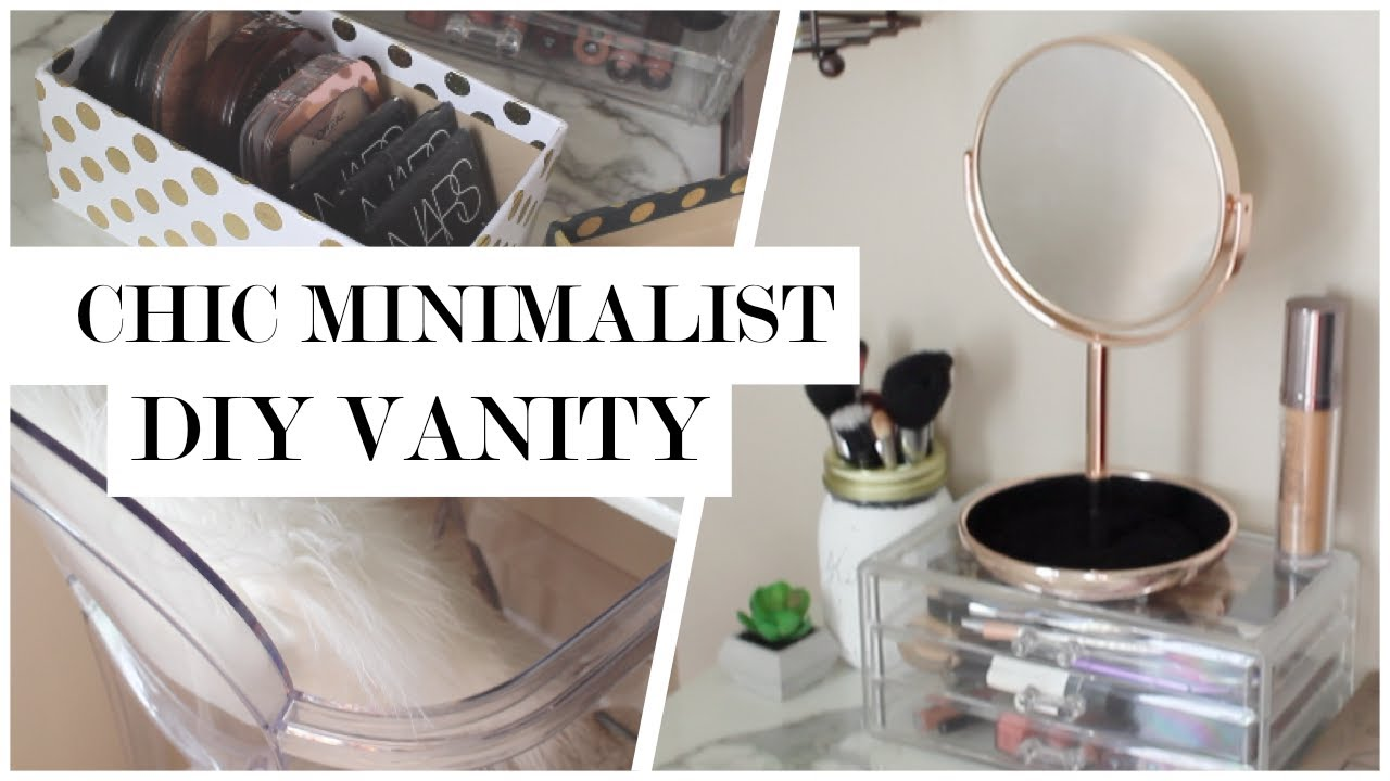 diy 50 000 sweepstakes minimalist makeup vanity diy 50 giveaway youtube 9230