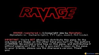 Ravage gameplay (PC Game, 1996)