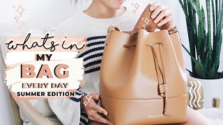whats in my bag summer 2019 everyday school work essentials for on the go