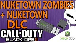 Como descargar los Dlc´s de Black Ops 2 Para Xbox 360(Nuketown) (Mega & Mediafire)