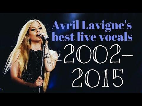 Avril Lavigne's best live vocals 2002-2015