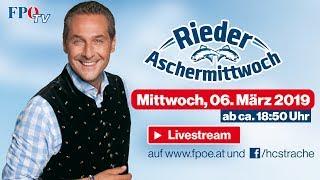 Komplettaufzeichnung: Rieder Aschermittwoch 2019