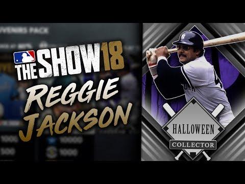 NEW Reggie Jackson Collection Program! MLB The Show 18 Diamond Dynasty