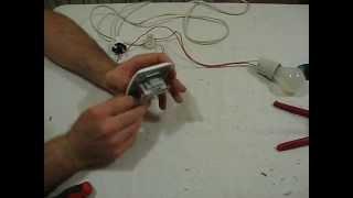 Как подключить одинарный  выключатель