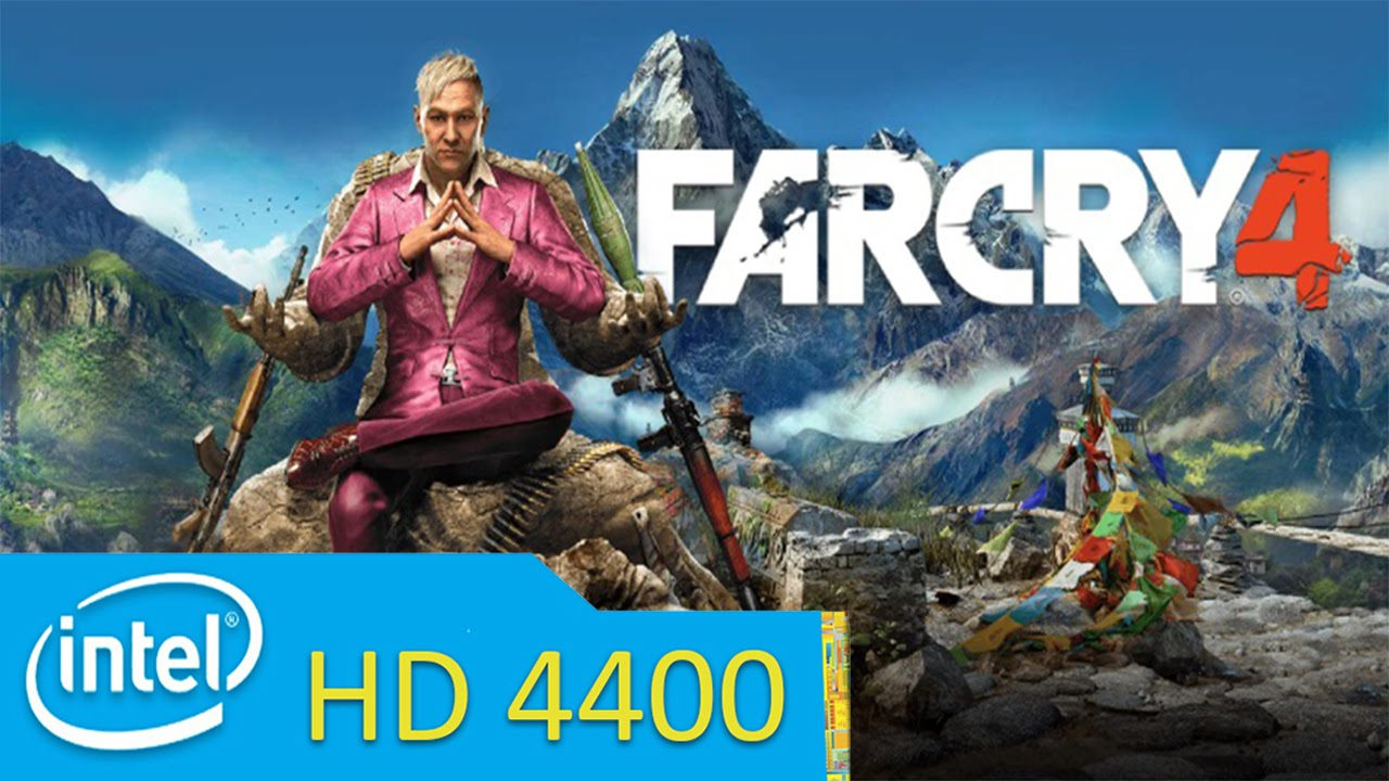far cry 4 - i5 4200u + hd 4400 / acer aspire e1-572 #windows 10
