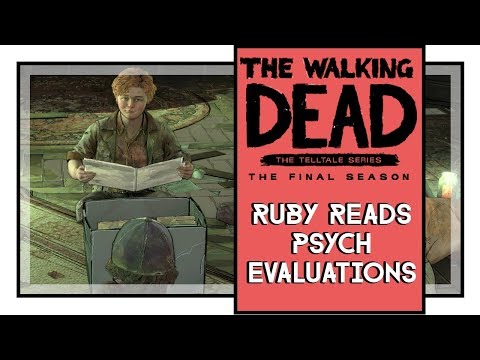 Ruby Reads Psych Evaluations And Probotionary Reports | The