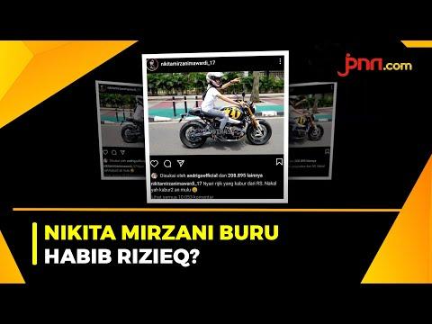 Nikita Mirzani Unggah Berita Buronan Covid-19 Ditembak Mati, Sindir Habib Rizieq?