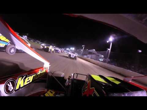 Scott Huber Fonda Speedway Feature 5-7-2016