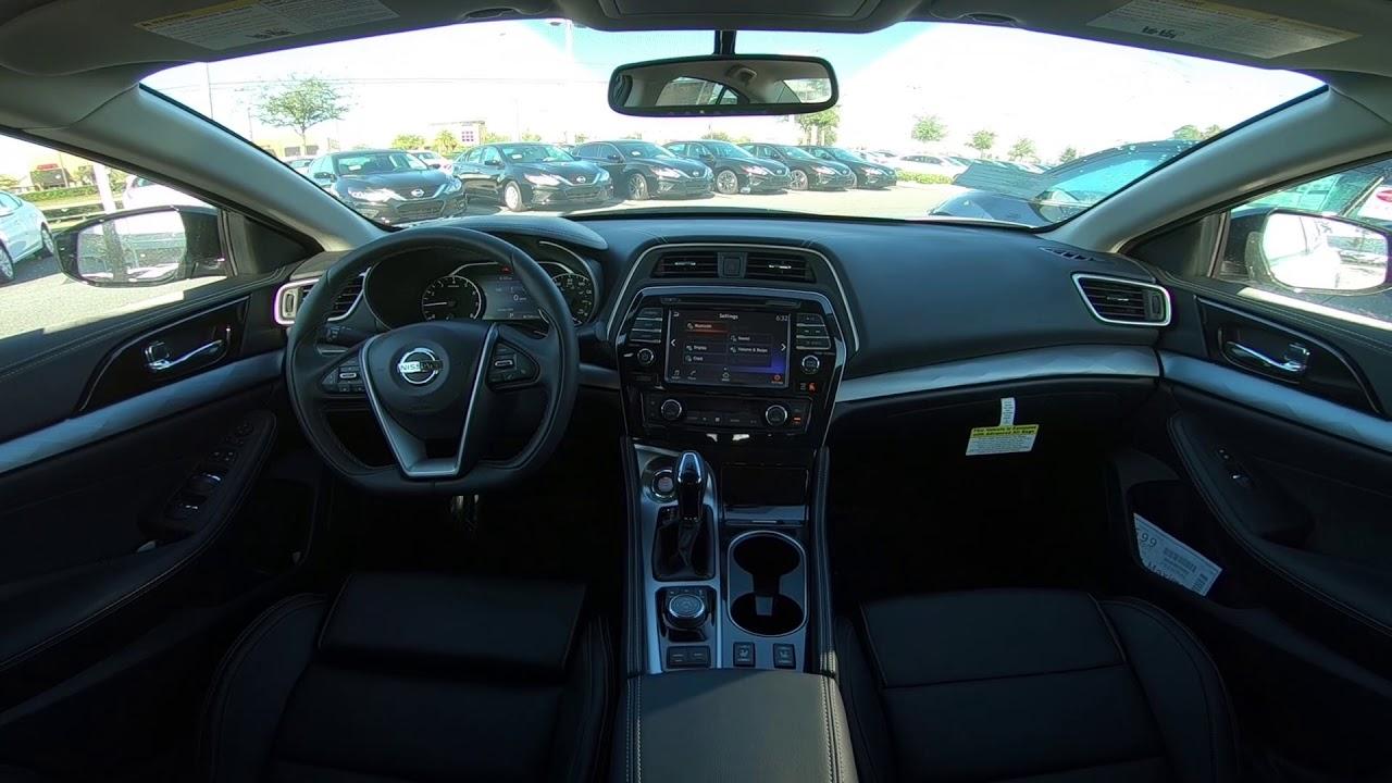 2017 5 Nissan Maxima Sv Interior
