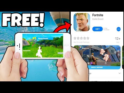 *FREE* FORTNITE MOBILE DOWNLOAD CODES! Download Fortnite Battle Royale for iOS RIGHT NOW!
