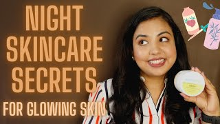 #skincare Top 5 Night Skincare Rules for GLOWING SKIN Naturally || MamaEarth Night Face Mask Review