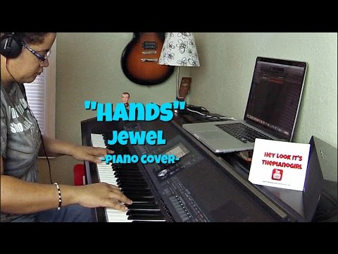 Jewel- Hands (Piano Cover by Jen Msumba) Instrumental
