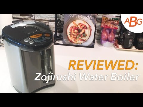 IN-DEPTH REVIEW:  Zojirushi Water Boiler And Heater CD-WCC30