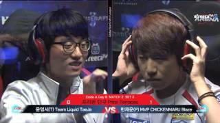 Taeja(T) vs Blaze(P) GSL
