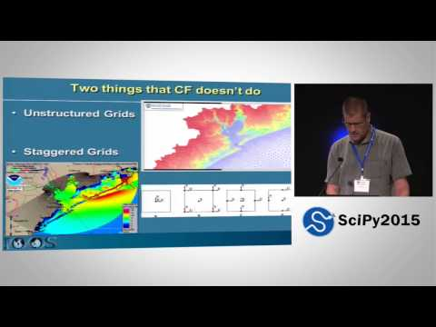 A Standardized Framework for Working with Met-Ocean Data   SciPy 2015   Richard Signell