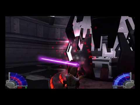 Star Wars Jedi Knight: Jedi Academy - Jaden vs Rosh |