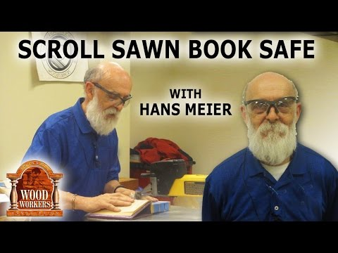 Scroll Sawn Booksafe - (by Hans Meier)