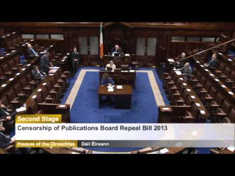 newstalk TDs and minister struggle to keep straight faces as fianna fail want to repeal censorship o