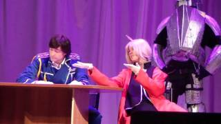 Fullmetal Alchemist. Сценка. JIYUU-4(, 2012-01-16T23:03:28.000Z)