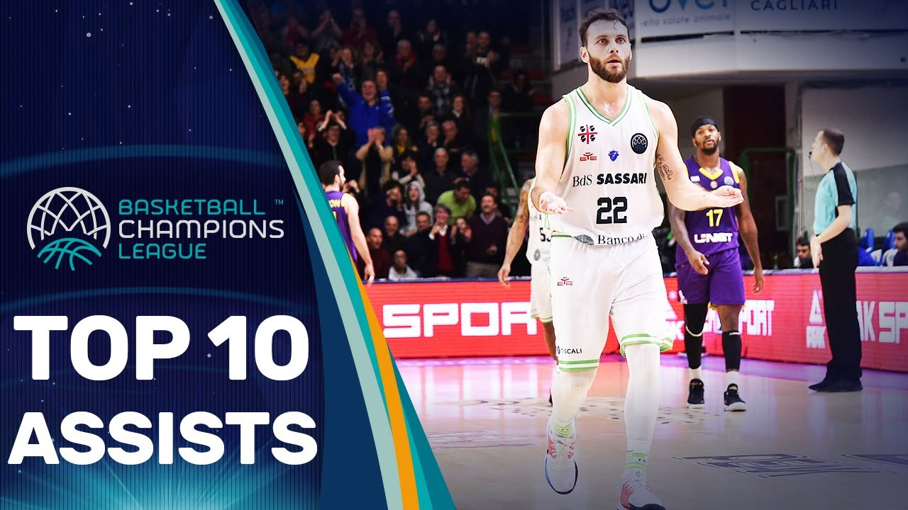 Top 10 Assists - Regular Season | Basketball Champions League 2019