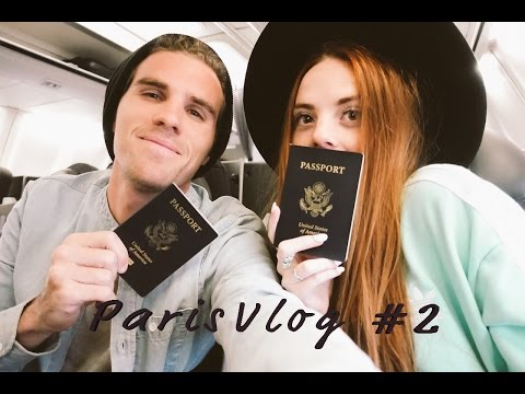 FLYING BUSINESS CLASS-Paris Vlog #2