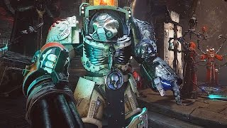 SPACE HULK DEATHWING All Gameplay + Trailers So Far 8 Minutes of EPIC Gameplay (PC PS4 XBOX ONE)